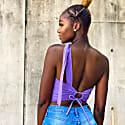Aspen Top- Lavender image
