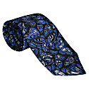 The Tropical Butterfly Tie Royal Blue image