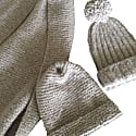Cashmere Hat St Moritz Igloo In Taupe image