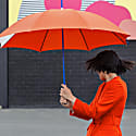 Large Umbrella: Hackney Poppy Red image