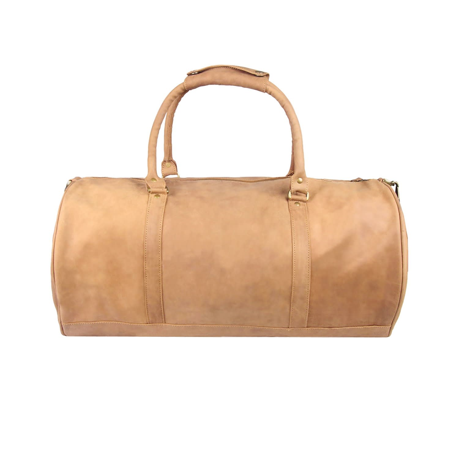 Leather Classic Duffle   Holdall In Vintage Cognac image 48cfaad03cdb6