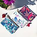 Vegan Leather Card Holder - Florals image