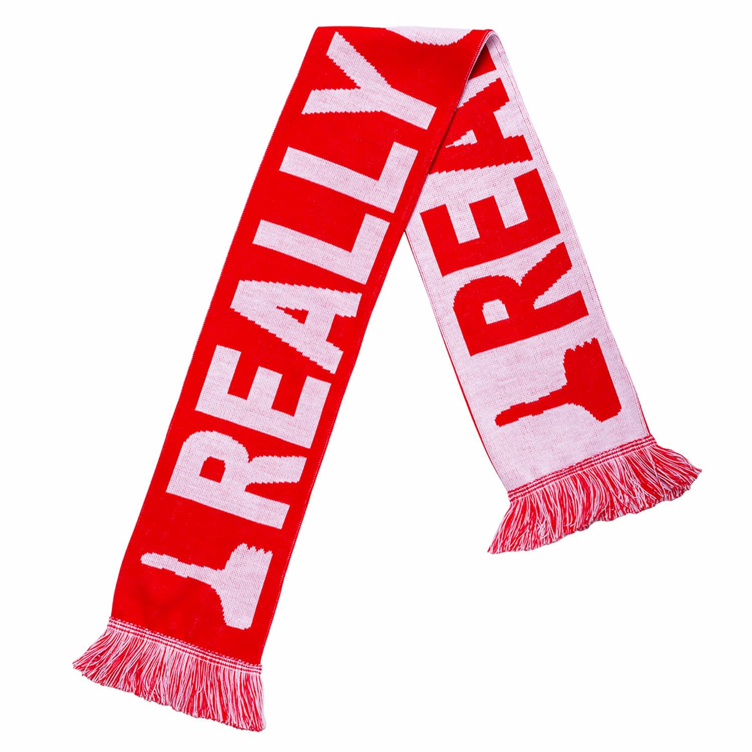 David Shrigley Really Good Football Scarf by Plinth