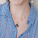 Freshwater Pearl Bug Necklace image