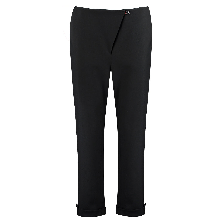 I'MDIVIDUAL - Organic Wool Trousers In Black