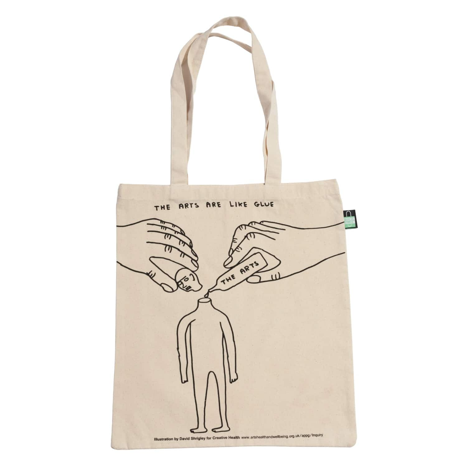 Large quality illustrated canvas Tote Bag Gift bag London Art Tote Bag