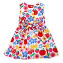 Butterfly Flower Party Dress image
