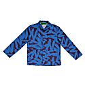 Big Ez Indigo Organic Cotton Pyjama Jacket image
