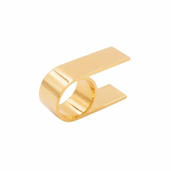 18K Vermeil Gold Double Finger Ring