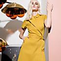 Asymmetric Blazer Dress image