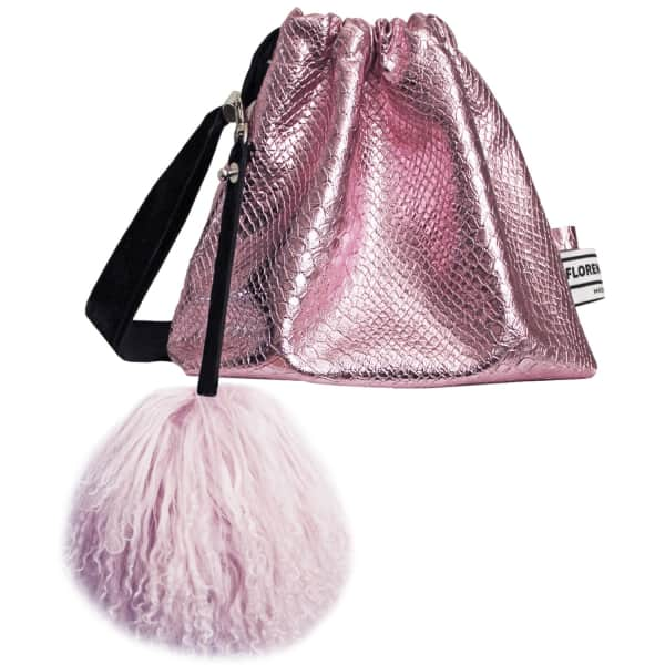 FLORENCE BRIDGE Lyla Party Pouch in Pink
