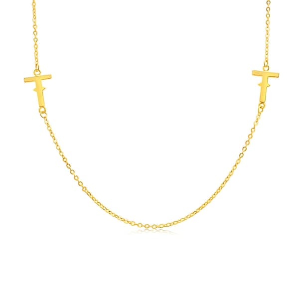 Tissuville Ikon Necklace - Gold