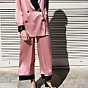 Silk Pants In Pink image