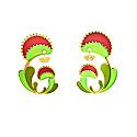 Venus Flytrap Earrings image