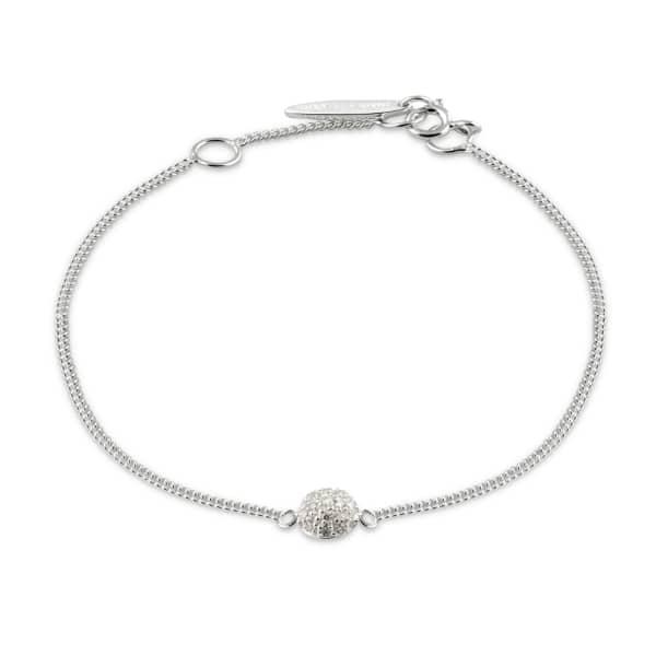ISABEL LENNSE Mini Sphere White Diamond Bracelet