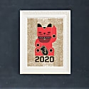 Goodbye Kitty 2020 Print image