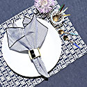 Dalmatian Check Napkins, Set Of 4 image