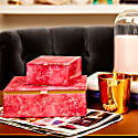 Small Square Treasure Box Flamingo Pink Magnesite image