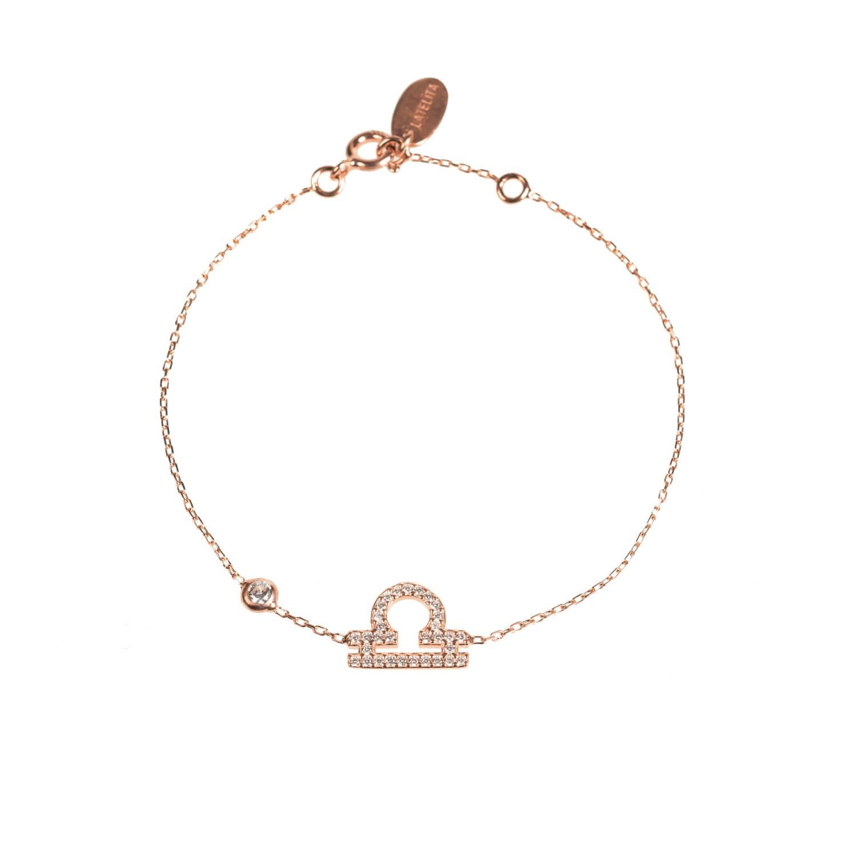 Latelita London Libra Zodiac Bracelet Silver sLgEx68Y