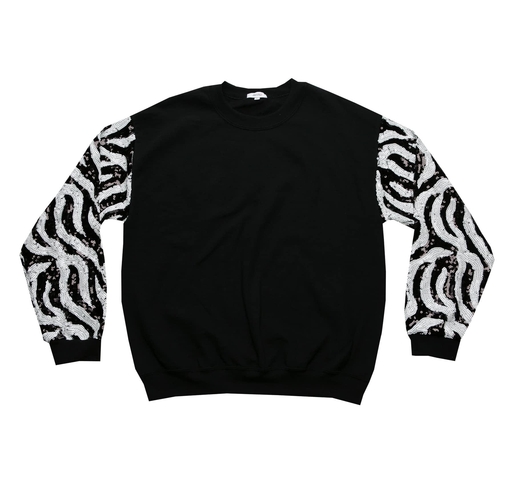 374330955b4 Zebra Sequin Sweater image