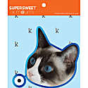 Big Head Profile Stickers Set of 3 image