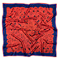 100 Red Roses Silk Scarf - Square image