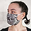 Three Layer Soft Silk Satin Non-Medical Face Masks - Set Of 3 image