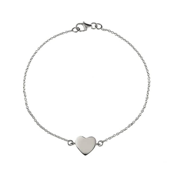 Cosmic Heart Bracelet Silver