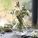A Hand-Engraved Crystal Vase With Ferns Design image