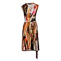 Multi-Coloured Empire Line Sleeveless Dress image