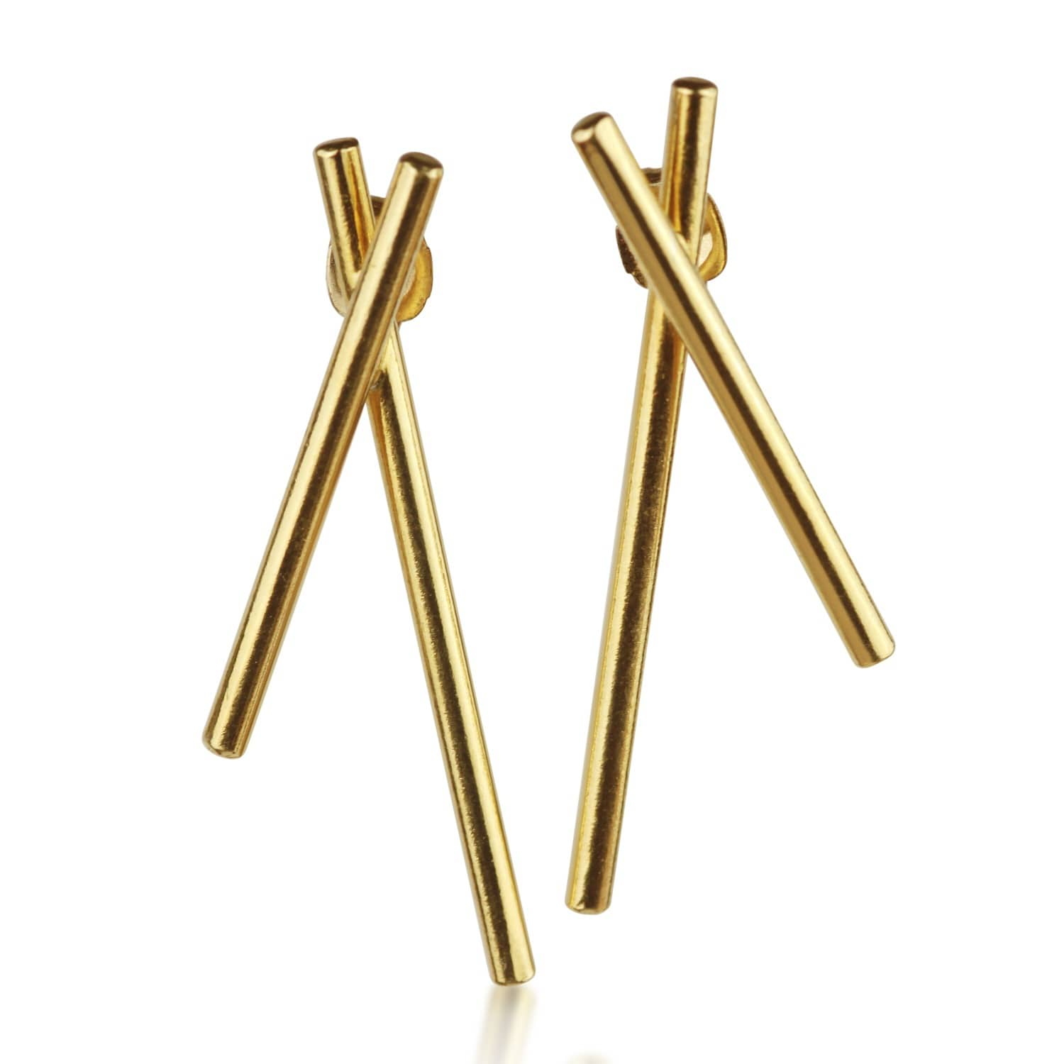 6fc06f475 Gold Hex Earrings | Marcia Vidal | Wolf & Badger