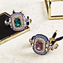 Luxurious Emerald Bracelet image