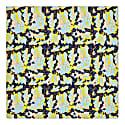 Silk Scarf Yellow & Navy image
