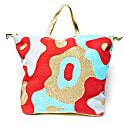 Mod Camo Weekender Bag Aqua Persimmon & Gold image