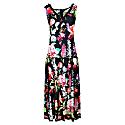 Boho Style V-Neck Maxi Sleeveless Dress image