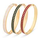 Red Diamond Enamel Bracelet image