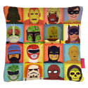 Heroes and Villains Cushion image