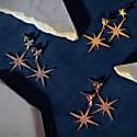 Petite Star Burst Drop Earring Silver image