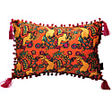 The Country Chicken Orange Rectangle Cushion image