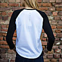 Rainbow Organic Cotton Long Sleeve T-Shirt In White image