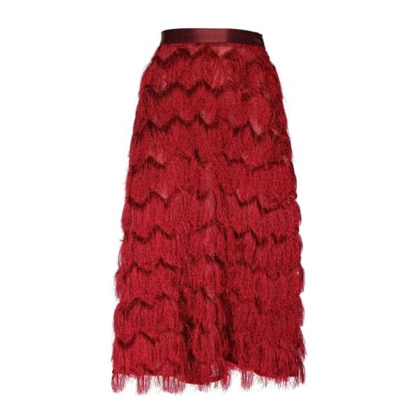 JIRI KALFAR Tassel Skirt