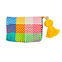 Cheche Travel Pouch Rainbow Check image
