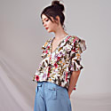 Kirby Top In Floral image