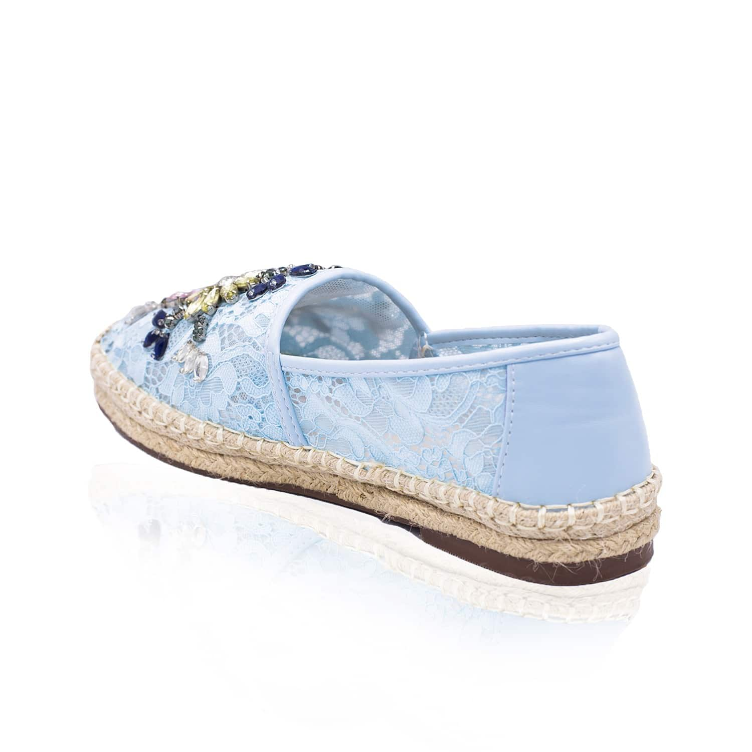 NISSA Lace Espadrilles With Sparkling Details Exclusive For Sale Discount Cheap Price Cost 0wUnH