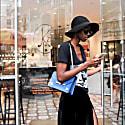Gavi Shoulder Bag In Triblue image
