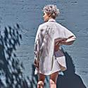 Cotton Smock Blouse- Ivory image