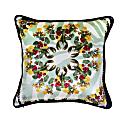 Lobster Pale Green Silk and Velvet Cushion image
