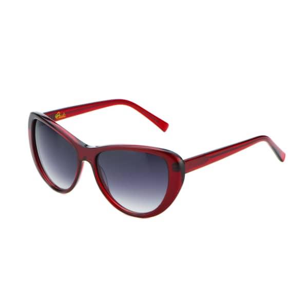 HEIDI LONDON Ruby Red Classic Cateye Sunnies