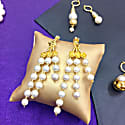 Freshwater Pearls Tassels Earrings image