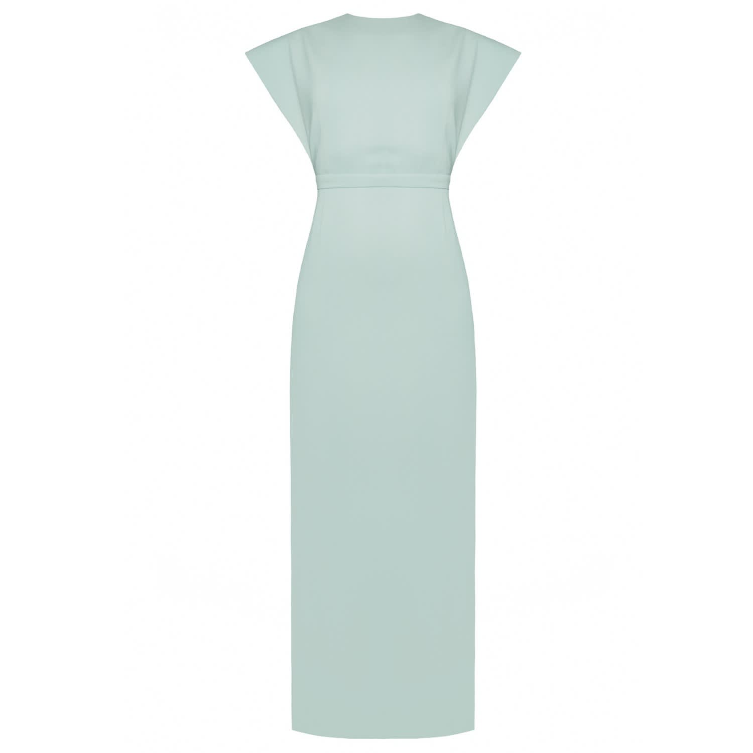 b3dffc0570 Mangata Mint Green Open Back Maxi Occasion Wedding Guest Dress ...
